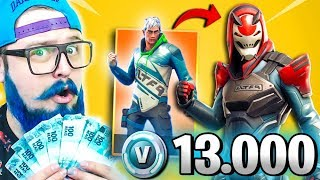 I BOUGHT ALL THE PASS AND MITEI WITH THE SKIN LEVEL 100-FORTNITE