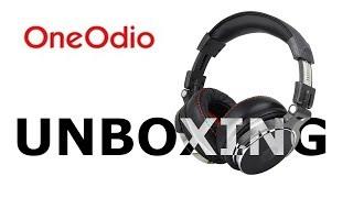 Video OneOdio Studio Headphones - Unboxing 2017 download MP3, 3GP, MP4, WEBM, AVI, FLV Juni 2018