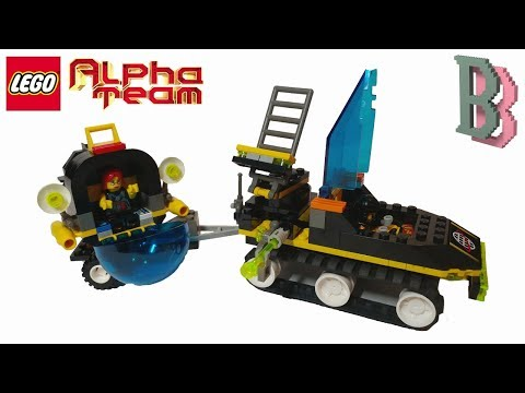 LEGO Alpha Team 6774 ATV - Unboxing And Review