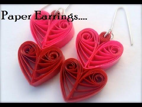 how to make beautiful earrings