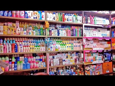 Unilever and Other company Cosmetics products shop Display R