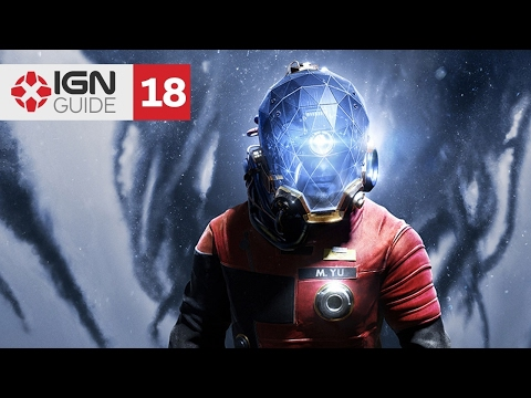Prey Walkthrough - Gathering Echoes: Alex Yu's Office and the Main Lift (Part 18)