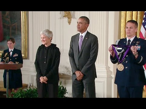 The President Awards the National Medals of the Arts and Humanities