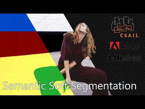 Semantic Soft Segmentation – Yağız Aksoy