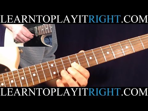 Hotel California Solo Lesson 1/3 - Note by Note - Eagles