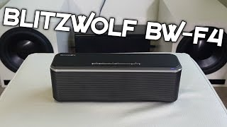 BLITZWOLF  BW-F4 BLUETOOTH SPEAKER REVIEW!
