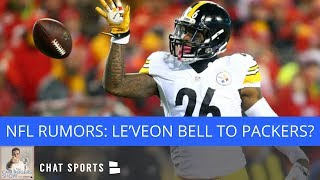NFL Rumors: Le'Veon Bell Trade To Packers, Dez Bryant To Seahawks, Antonio Brown Doesn't Want Trade