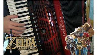 [Accordion]The Champions' Ballad (Ft. Kass) - Zelda: Breath of the Wild - The Champions' Ballad DLC