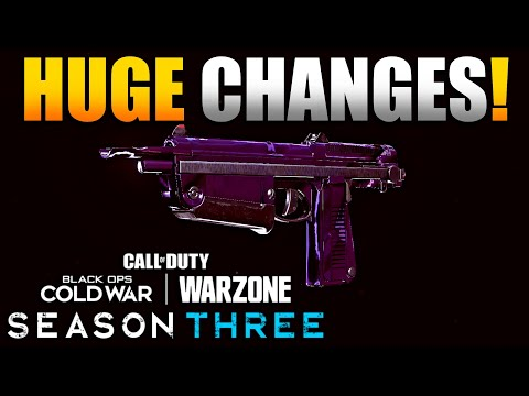 Huge Changes to Attachments that Will impact the Meta in Warzone   Basic AMP63/Balistic Knife Stats