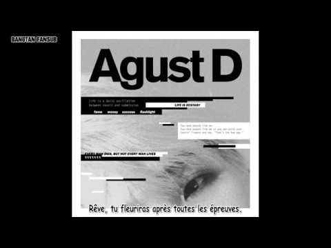 [VOSTFR] Agust D - So Far Away (feat. Suran) [BTS Suga 1st Mixtape]