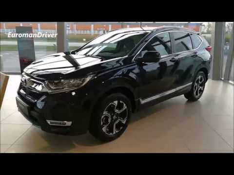 All New Honda CR-V 2019 Europe Edition Interior Exterior Tou