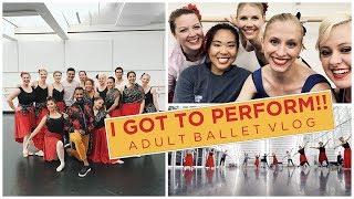 Performance Week!! Ballet Vlog