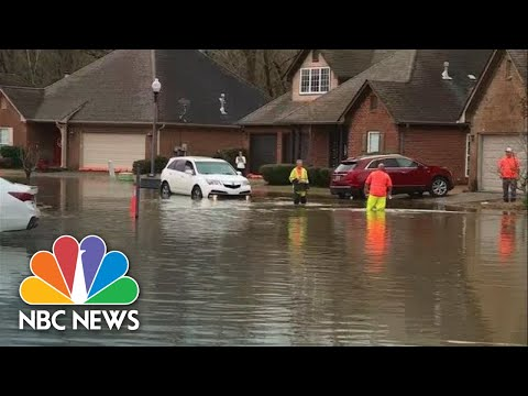 DOWNLOAD OR Watch: Alabama Neighborhood Flooded After Heavy Rainstorm