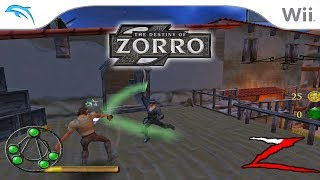 The Destiny of Zorro | Dolphin Emulator 5.0-10132 [1080p HD] | Nintendo Wii