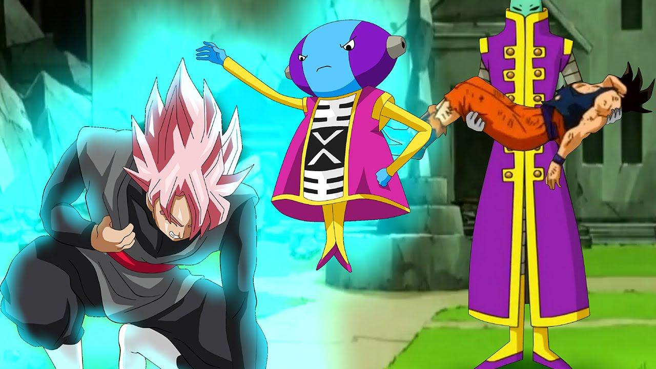 Omni King Zeno Vs Black Goku And Zamasu