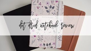 Dot Grid Notebook Review