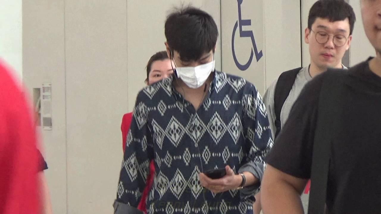 bigbang top ���choi seung hyun���� leave hong kong