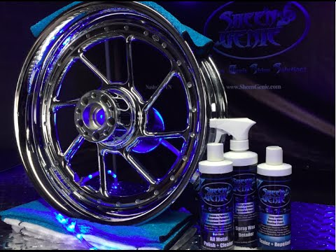Download Sheen Genie High Gloss All Metal Polish + Cleaner