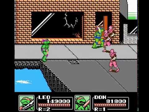 NES Longplay [008] Teenage Mutant Ninja Turtles III: The Manhattan Project