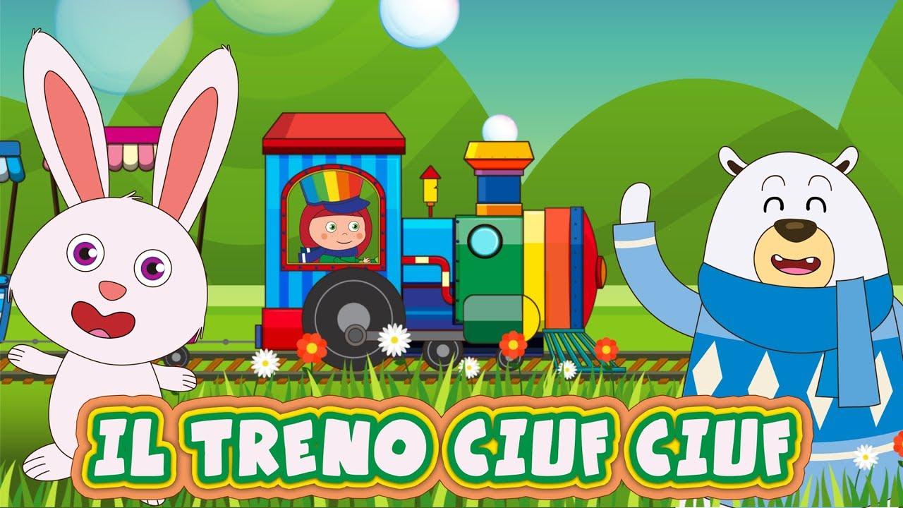 Il treno ciuf ciuf canzoni per bambini e bimbi piccoli for Canzoncini per bambini piccoli