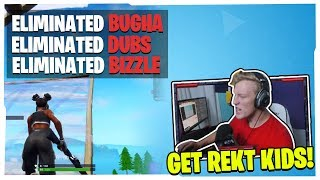TFUE ELIMINATES  BUGHA, BIZZLE & DUBS ALL BY HIMSELF!