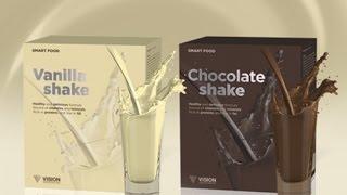 Коктейли VISION Smart Food - Vanilla, Chocolate Shake