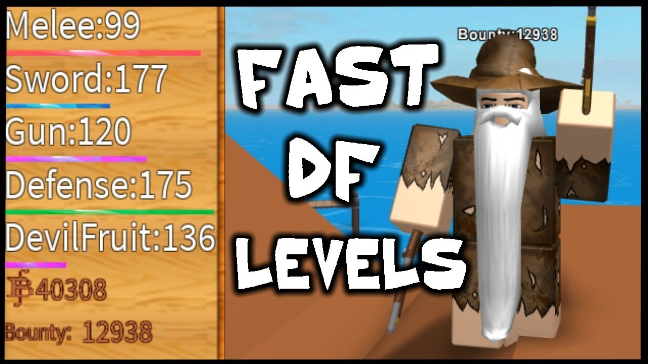 Alpha Steve S One Piece Roblox How To Level Up Devil Fruit Fast Steve S One Piece Roblox Youtube