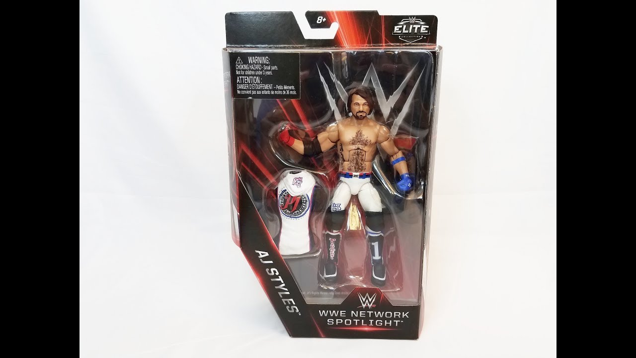 WWE AJ STYLES NETWORK SPOTLIGHT FIGURE REVIEW!