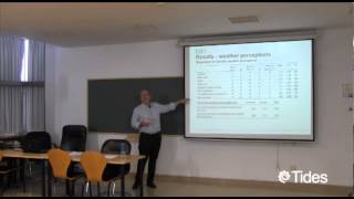 SeminariosTides: Weather perceptions and preferences among summer tourists in Northern Scandinavia