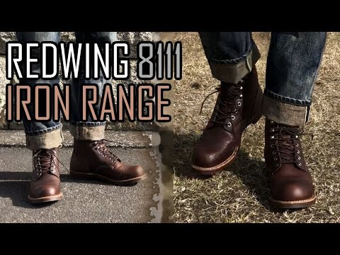 レッドウィング8111 アイアンレンジ REDWING IRONRANGE 開封 革ブーツオイルアップ