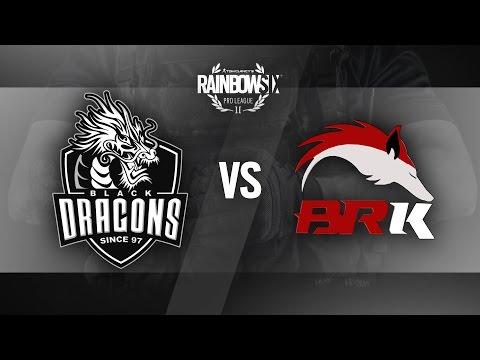 R6 PRO LEAGUE | BLACK DRAGONS vs BRK E-SPORTS