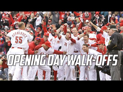 MLB | Opening Day Walk-Offs