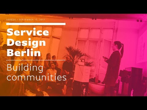 Building communities / Service Design Drinks