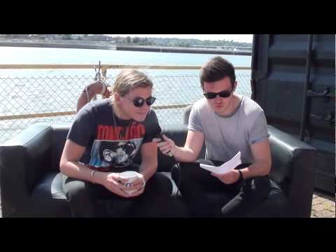Conrad Sewell - Quick Fire Questions on #TheHitList
