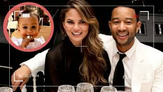 John Legend's Daughter Speaks First Word on Moroccan Vacation | Happy News