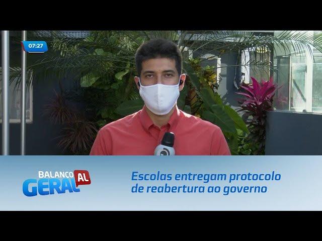 Escolas de Alagoas entregam protocolo de reabertura ao governo