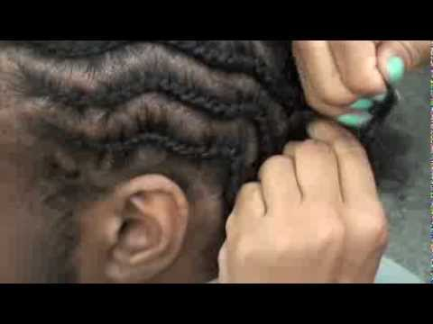 Zigzag Braids: Visible Braids/Inverted style