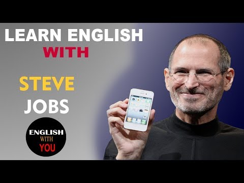 English With You   STEVE JOBS    Learn English  