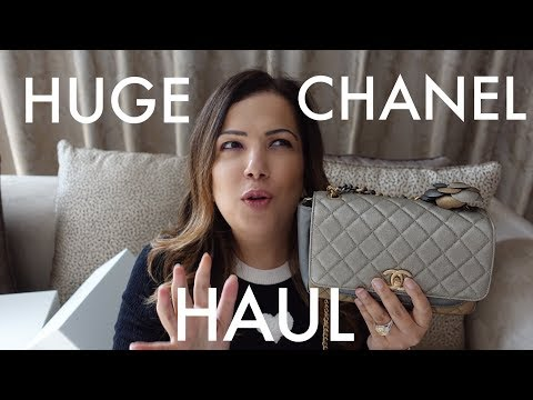 Huge Chanel Haul-  Clothing, Bags, Shoes & Jewelry!  | How She Spends It