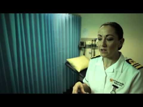 Royal Navy Jobs : Meet Sharon (Nursing Officer)