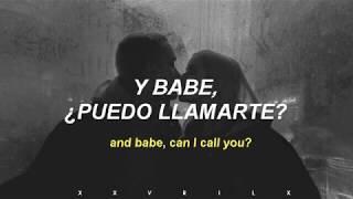 BABE, CAN I CALL YOU? // The Hunna  // Español (Lyrics)