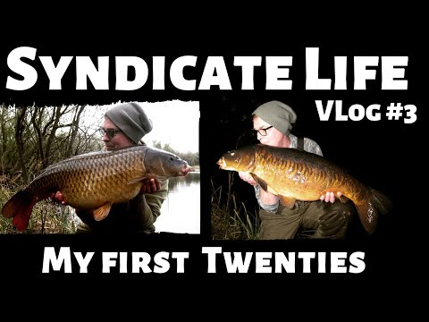 Carp Fishing Syndicate Life Vlog#3 A Fantastic Session, Landing Six Carp And My First Twenties
