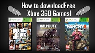 How To Download And Install Xbox 360 Games For Free 2014/2015