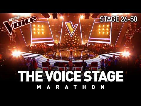 The Voice Stage Marathon | Part 2 | Stage 26-50