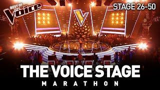 The Voice Stage Marathon | Part 2 | Stage 26-50