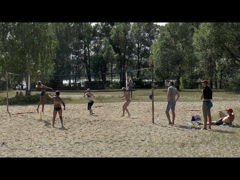 Пляжный волейбол.  Девушки. FullHD. Игра за 1-е место. Вся игра