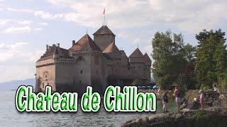 レマン湖畔モントルー、シヨン城( 内部 )、ヴヴェイ、のんびり旅 Chillon castle