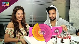Asha Negi and Rithvik Dhanjani play Never Have I Ever