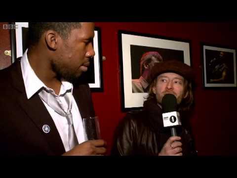 (2011/01/22) BBC Radio 1, Thom and Flying Lotus