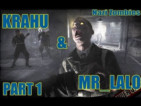 CoD Black Ops| Zombies on Der Riese Gameplay (part 1/?) w/ MrLalo |